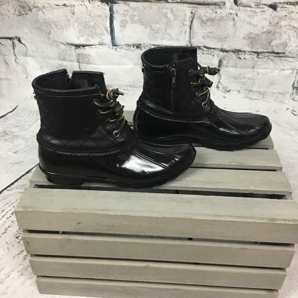6d44af958aa Steve Madden Torrent trendy rain boots. M 5a7512b750687c1097898665